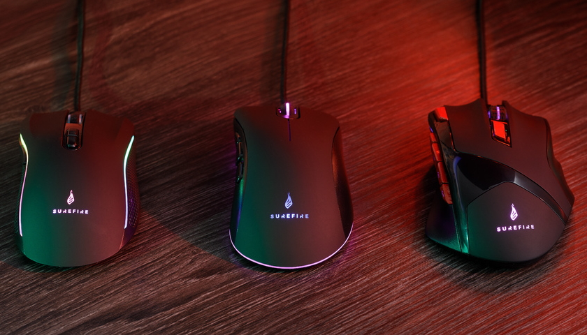 SureFire Gaming Mouse 48815 48816 48817